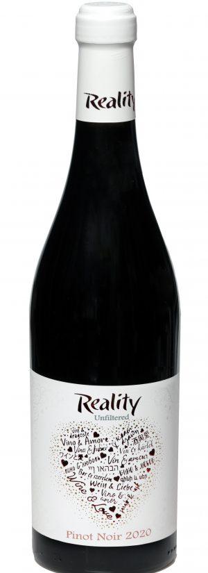 Reality Вино & Любов Пино Ноар 2020 UNFILTRATED